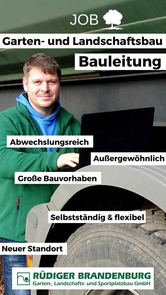 Wir Suchen - Jobs bei Garten- und Landschaftsbau Rüdiger Brandenburg